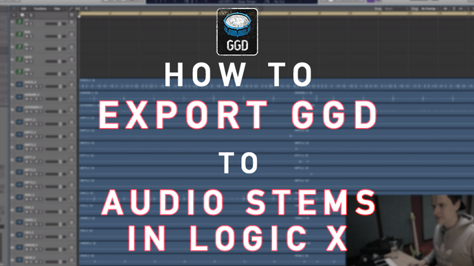 Exporting Drum Stems in Logic