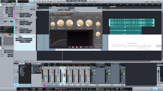 Drum Mixing 101: The basics of EQ and compression