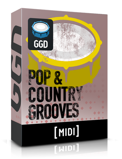 Pop & Country Grooves - Midi Pack