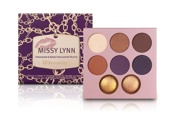 BHCosmetics Missy Lynn Eyeshadow & Highlighter Palette - MakeUpMart