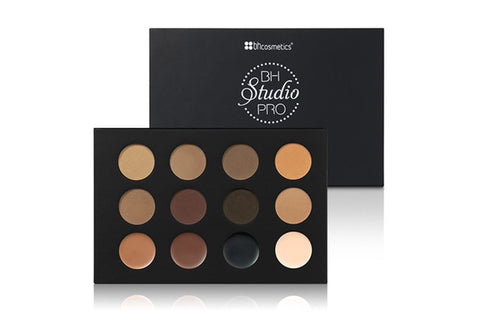 BHCosmetics Studio Pro Ultimate Brow Palette - MakeUpMart