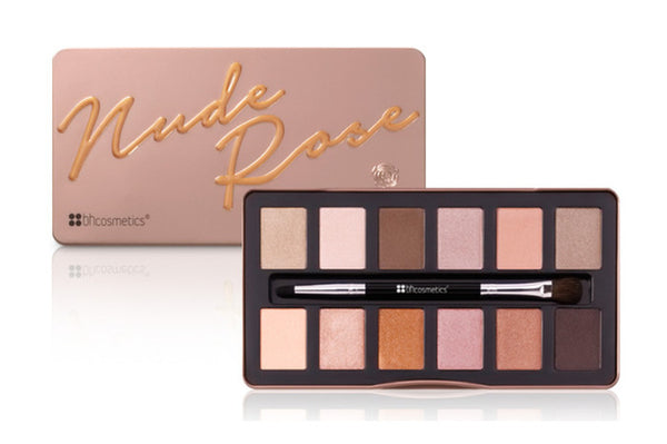 BHCosmetics Nude Rose – 12 Color Eyeshadow Palette - MakeUpMart