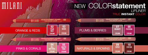 MILANI Colour Statement Lipliner - MakeUpMart