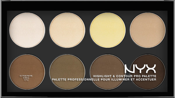 NYX Hightlight & Contour Pro Palette