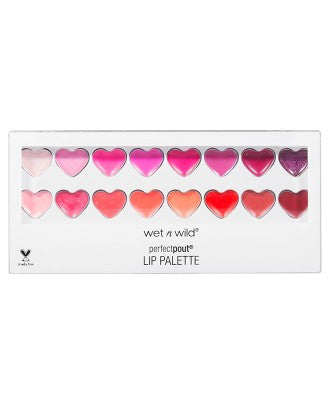 Wet N Wild Queen Of My Heart Lip Gloss Palette - From Heart to Finish