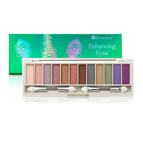 BH Cosmetics Enhancing Eyeshadow Palette - Gorgeous Green Eyes