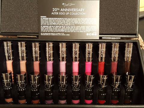 Lorac Cosmetics 20th Anniversary Alter Ego Lip Collection - MakeUpMart