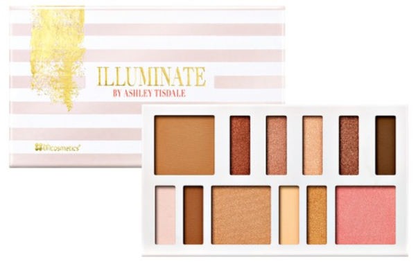 Illuminate By Ashley Tisdale: Beach Goddess - 12 Color Eye & Cheek Collection