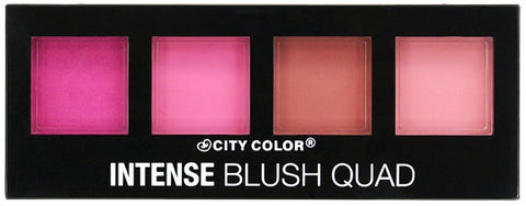 City Color Intense Blush Quad - Collection 1