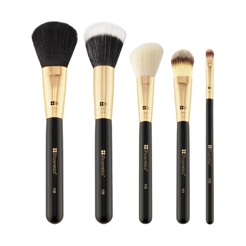BH Cosmetics Face Essential - 5 Piece Brush Set