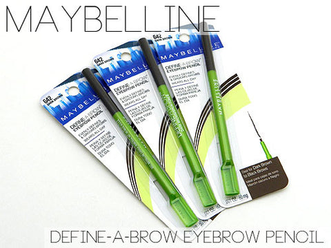 Maybelline Define A Brow Eyebrow Pencil - MakeUpMart