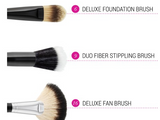 BH Cosmetics Blending Face Trio - 3 Piece Brush Set