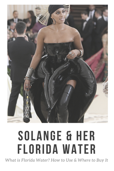 Solange Florida Water at Met Gala