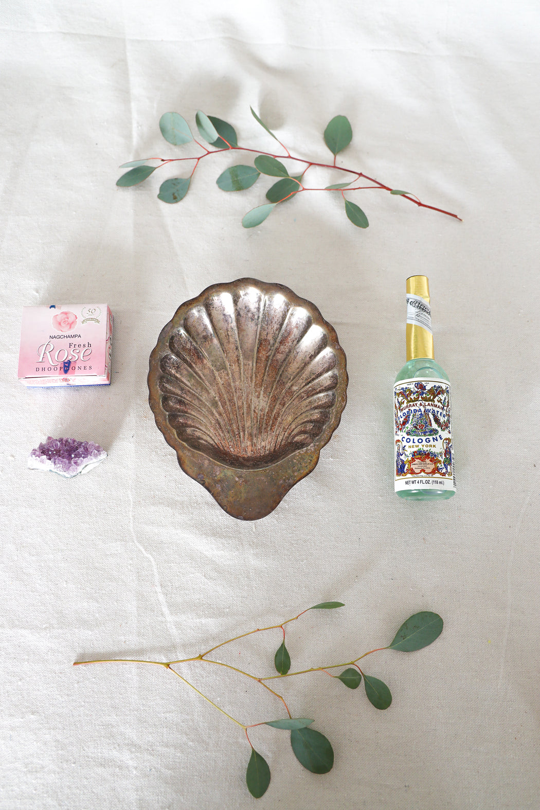 Intuition Nourishing Kit with Antique Seashell Dish