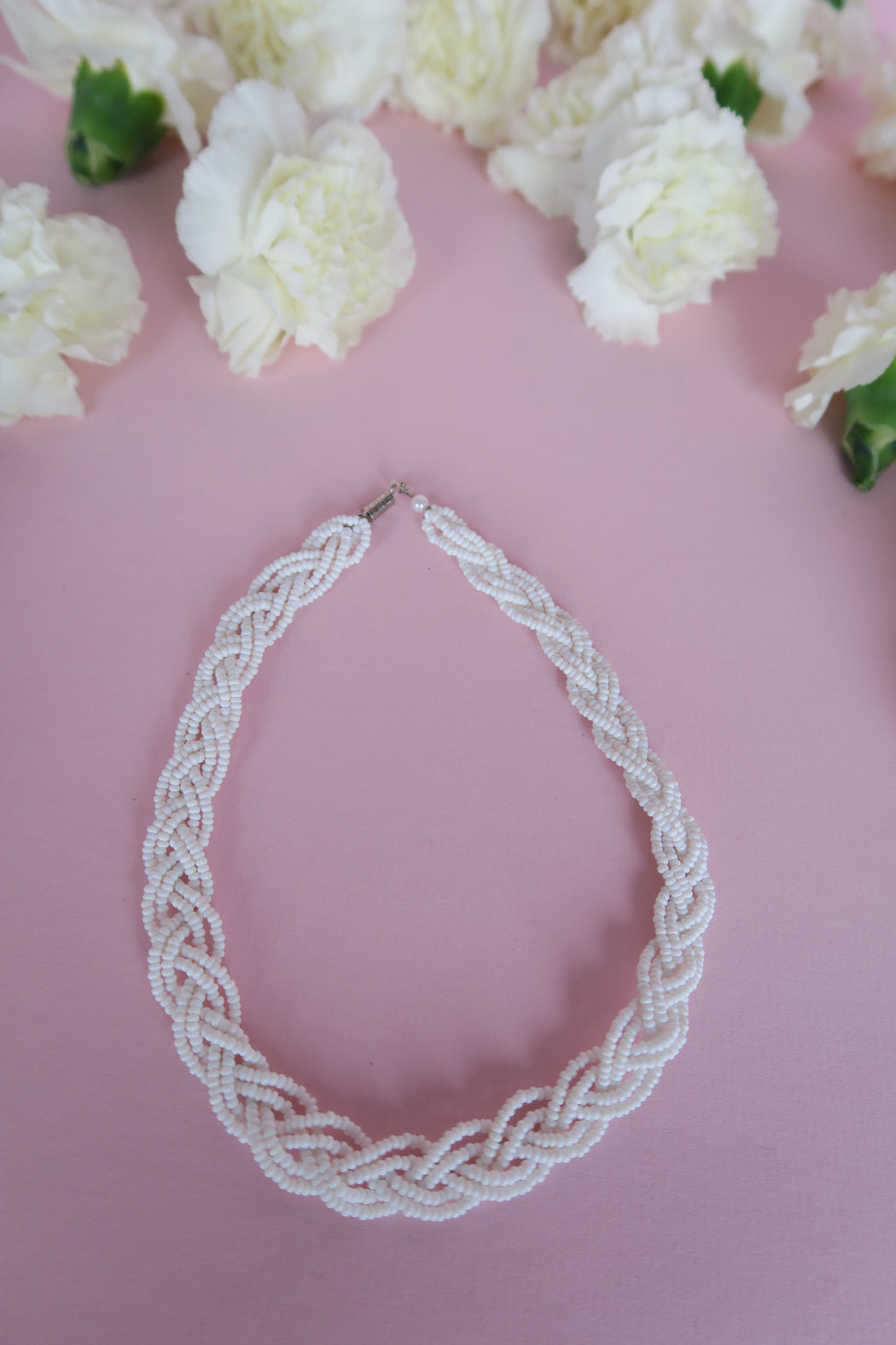 Braided Beaded Baby Choker