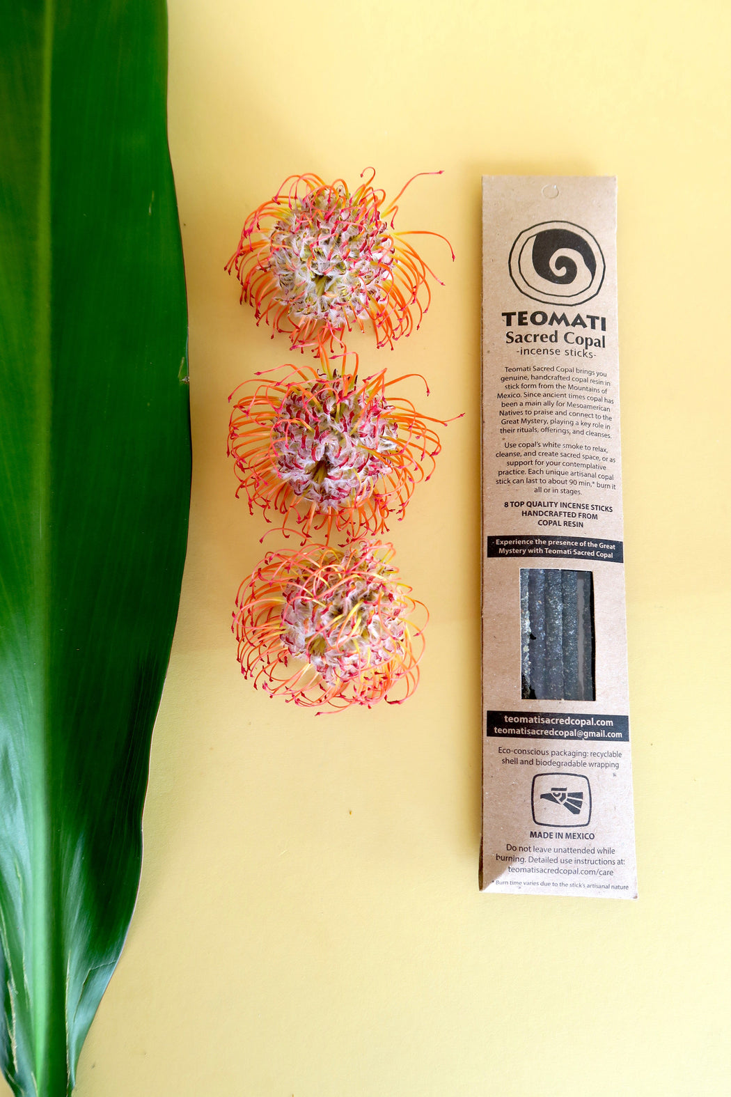 Teomati Sacred Copal Incense Sticks