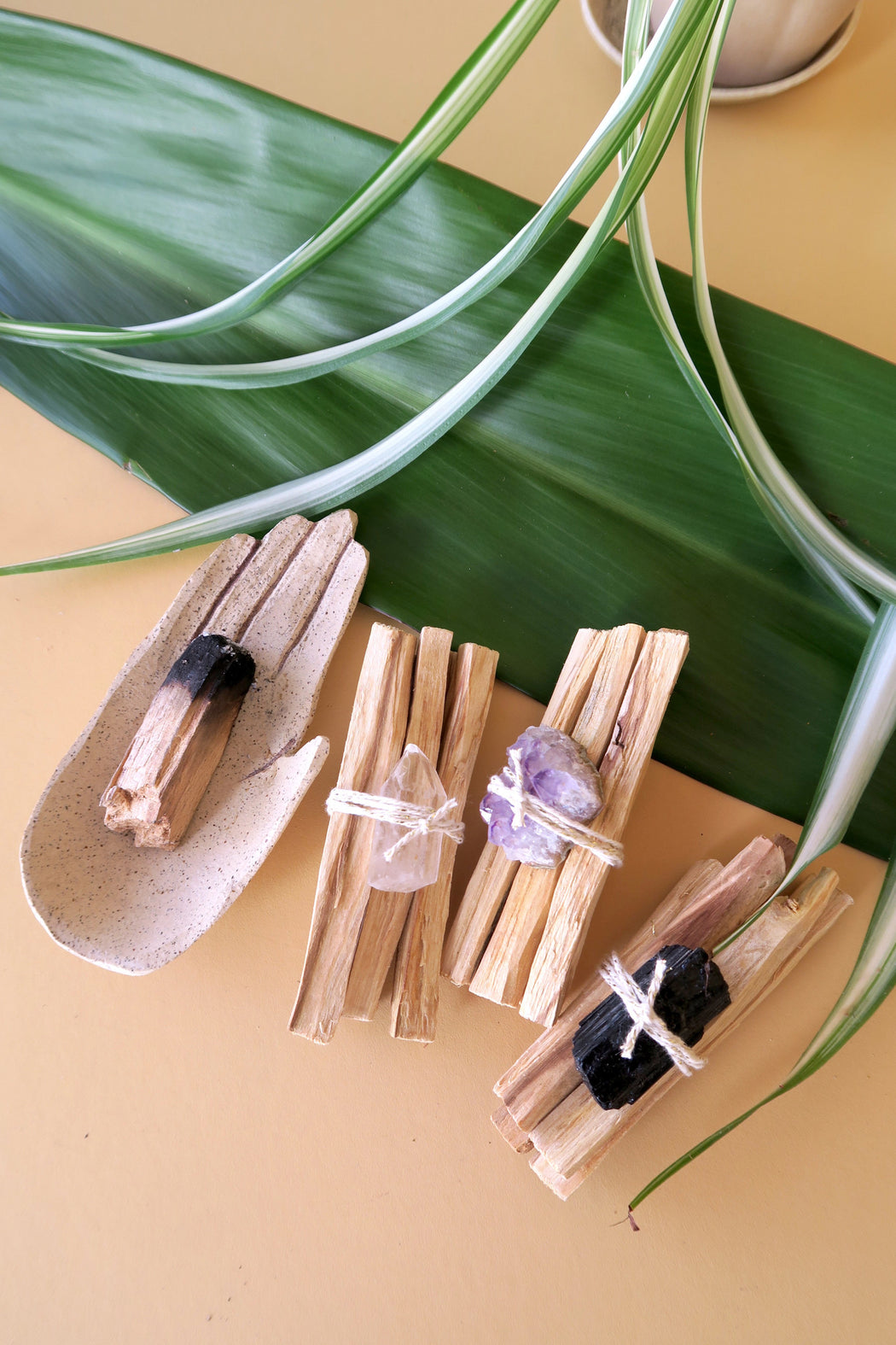 Palo Santo Bundle with Tourmaline