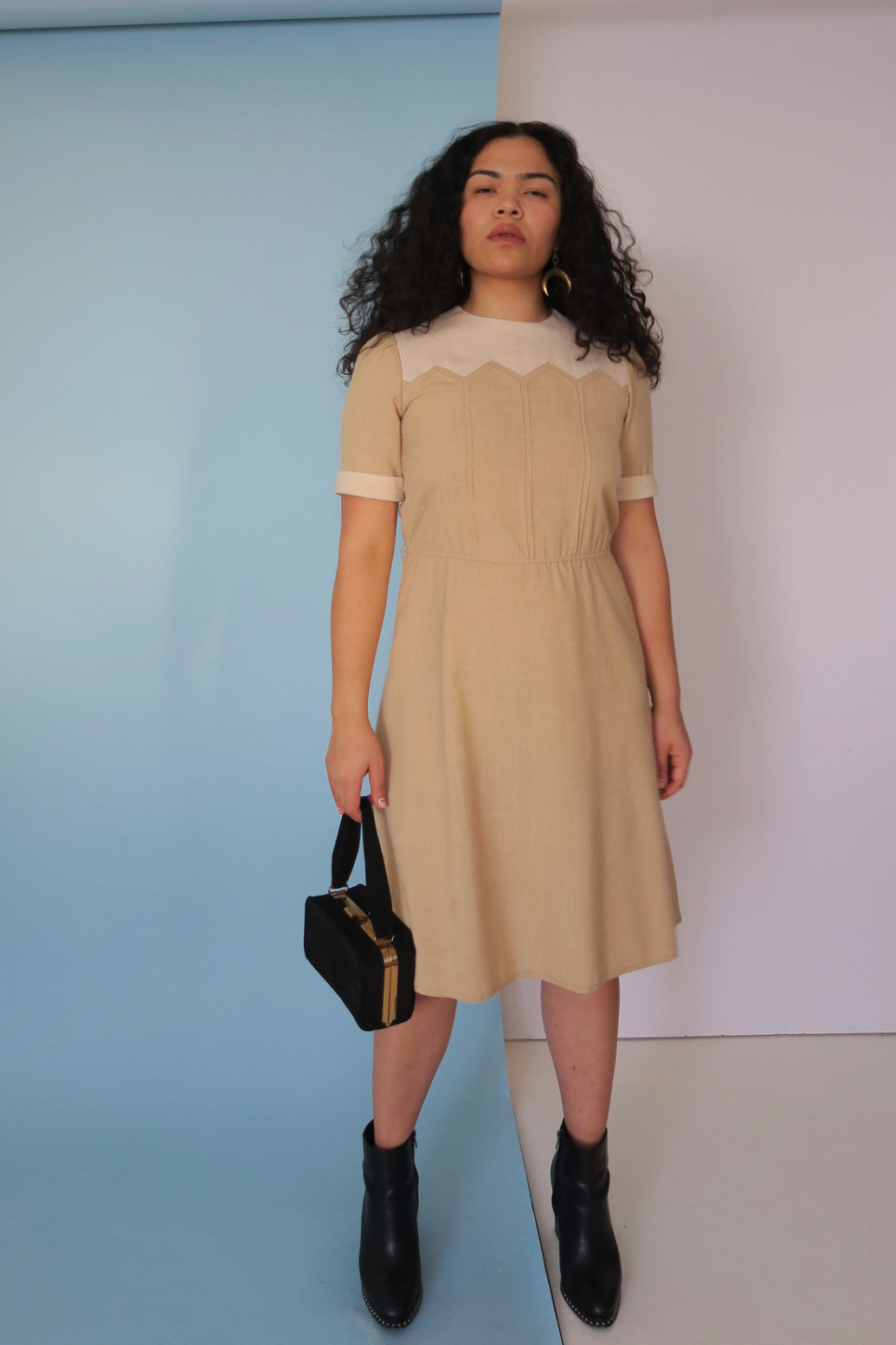 Cream Babygirl Dress