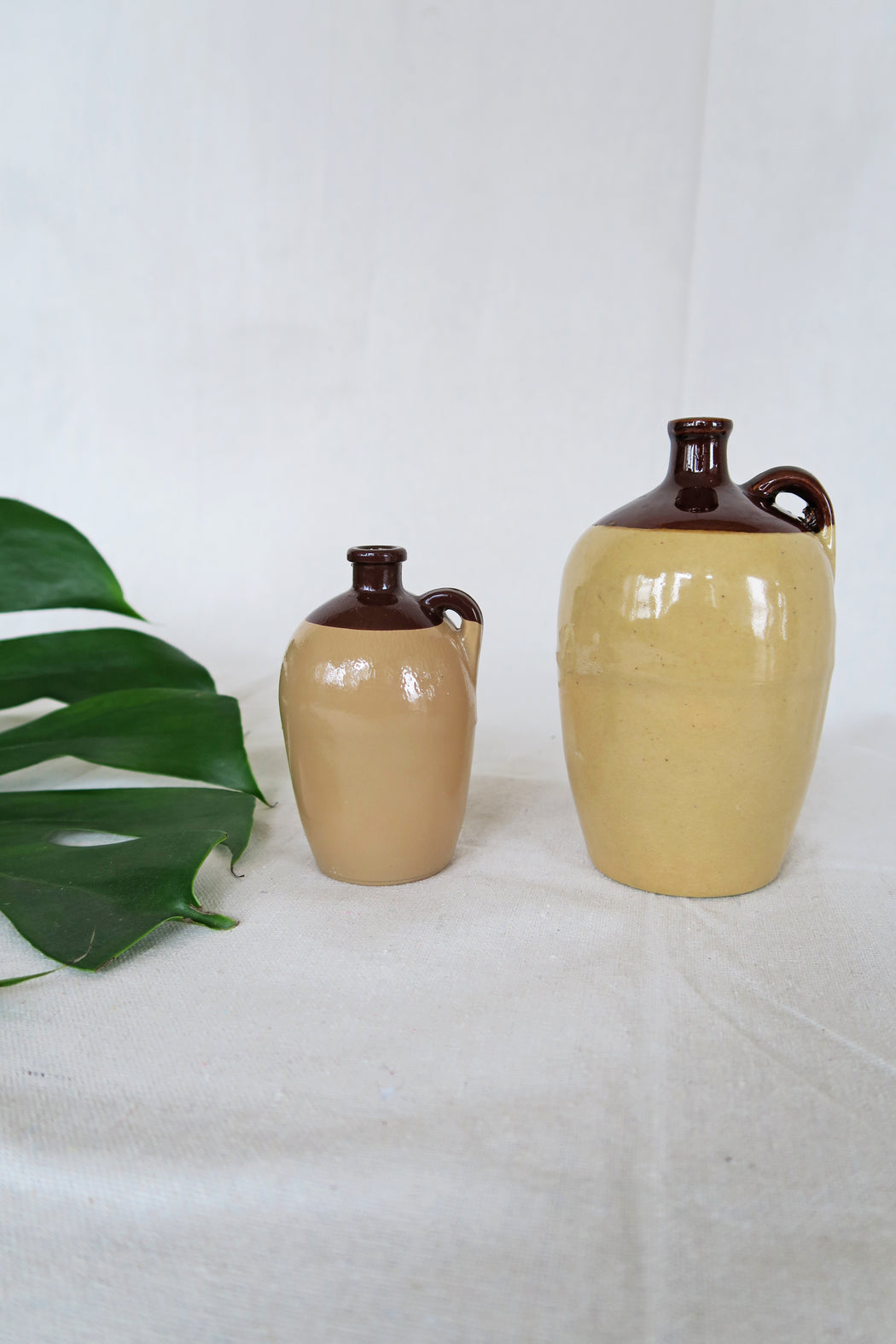 Ceramic & Glass Vase Set