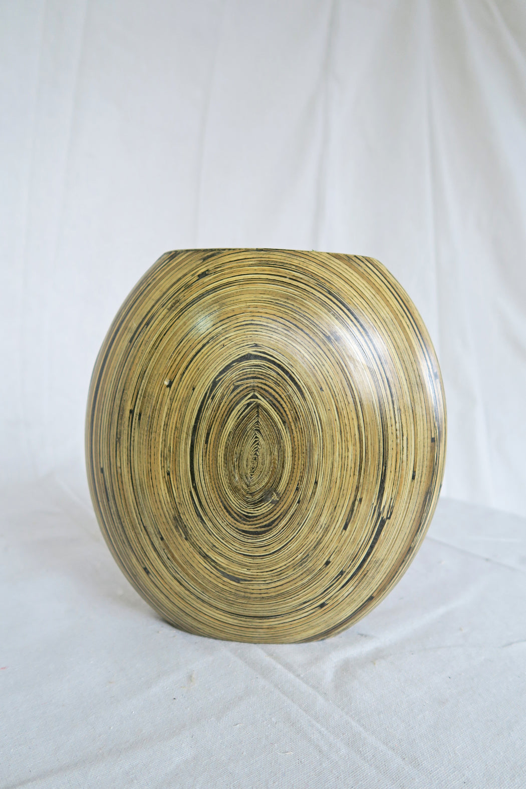 Neutral Oval Vase