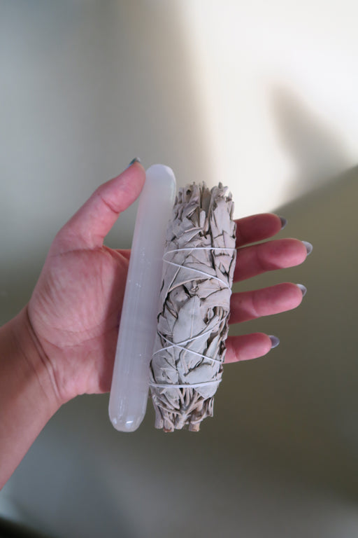 Selenite & Sage Set