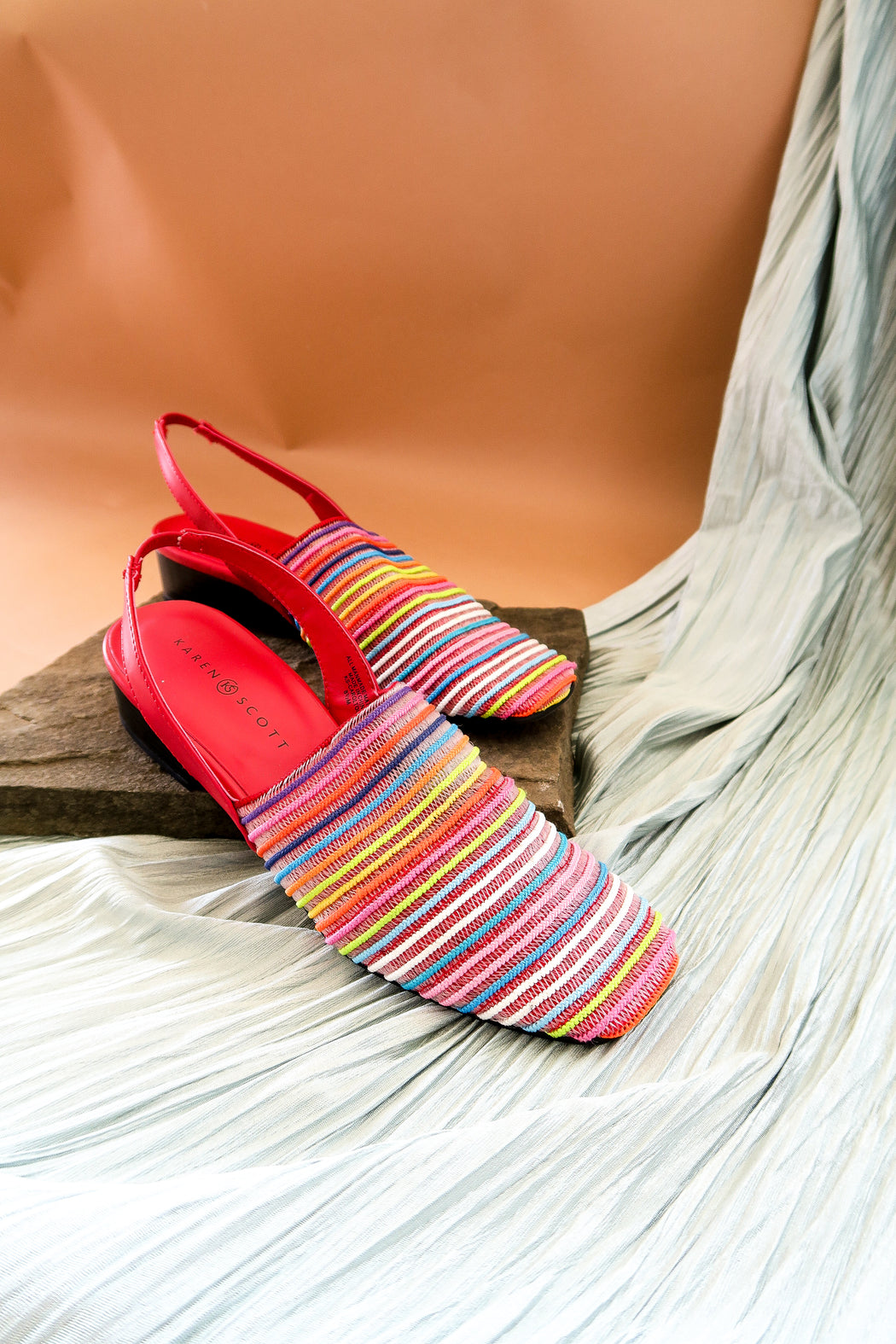 Taste the Rainbow Flat Slingbacks