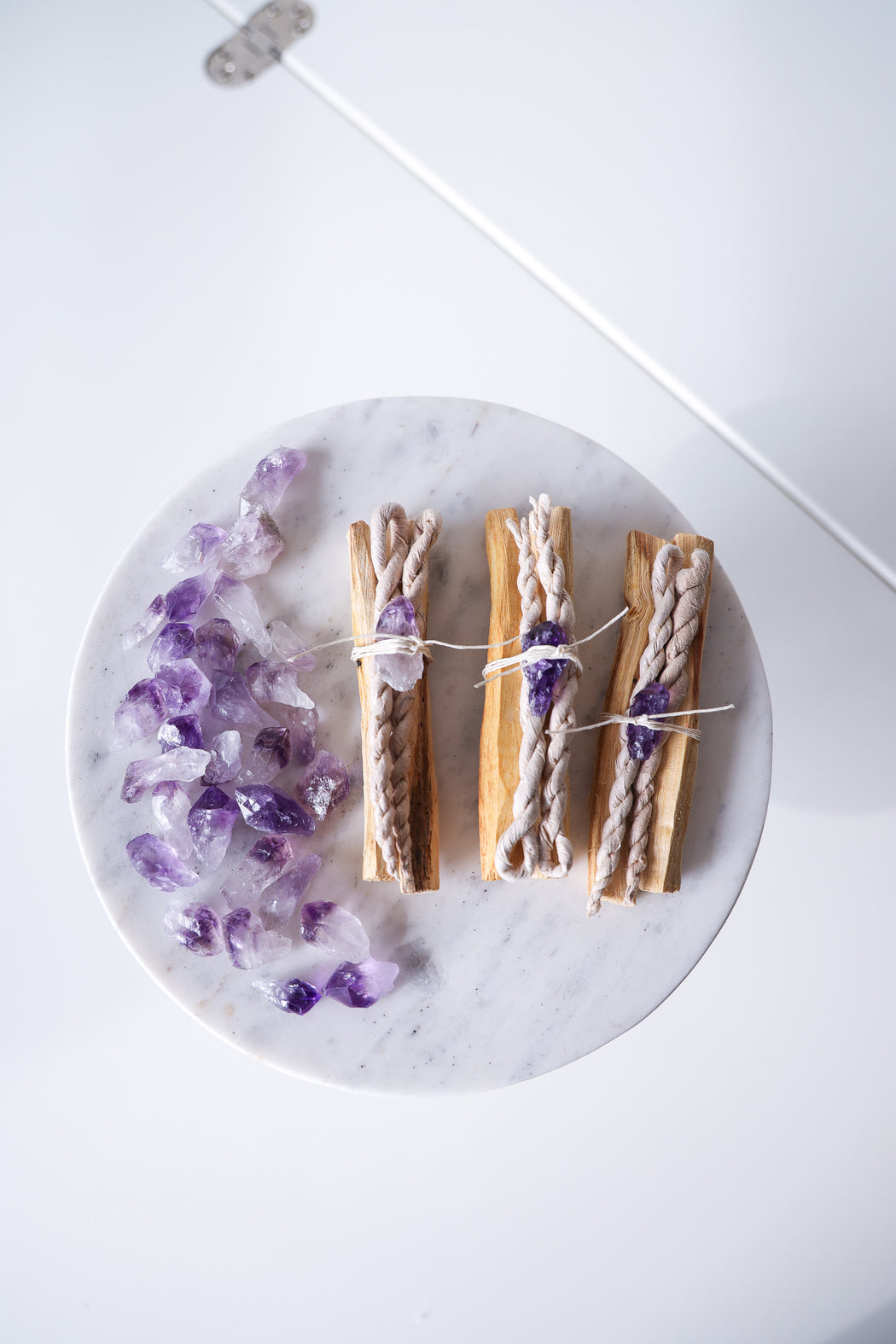 Palo Santo Bundle with Amethyst & Cedar Dhup