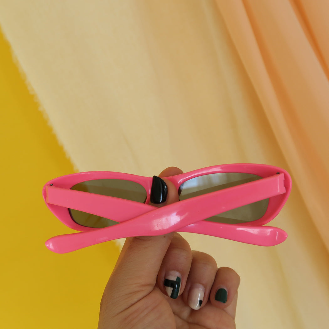Hot Pink Vintage Micro Sunnies