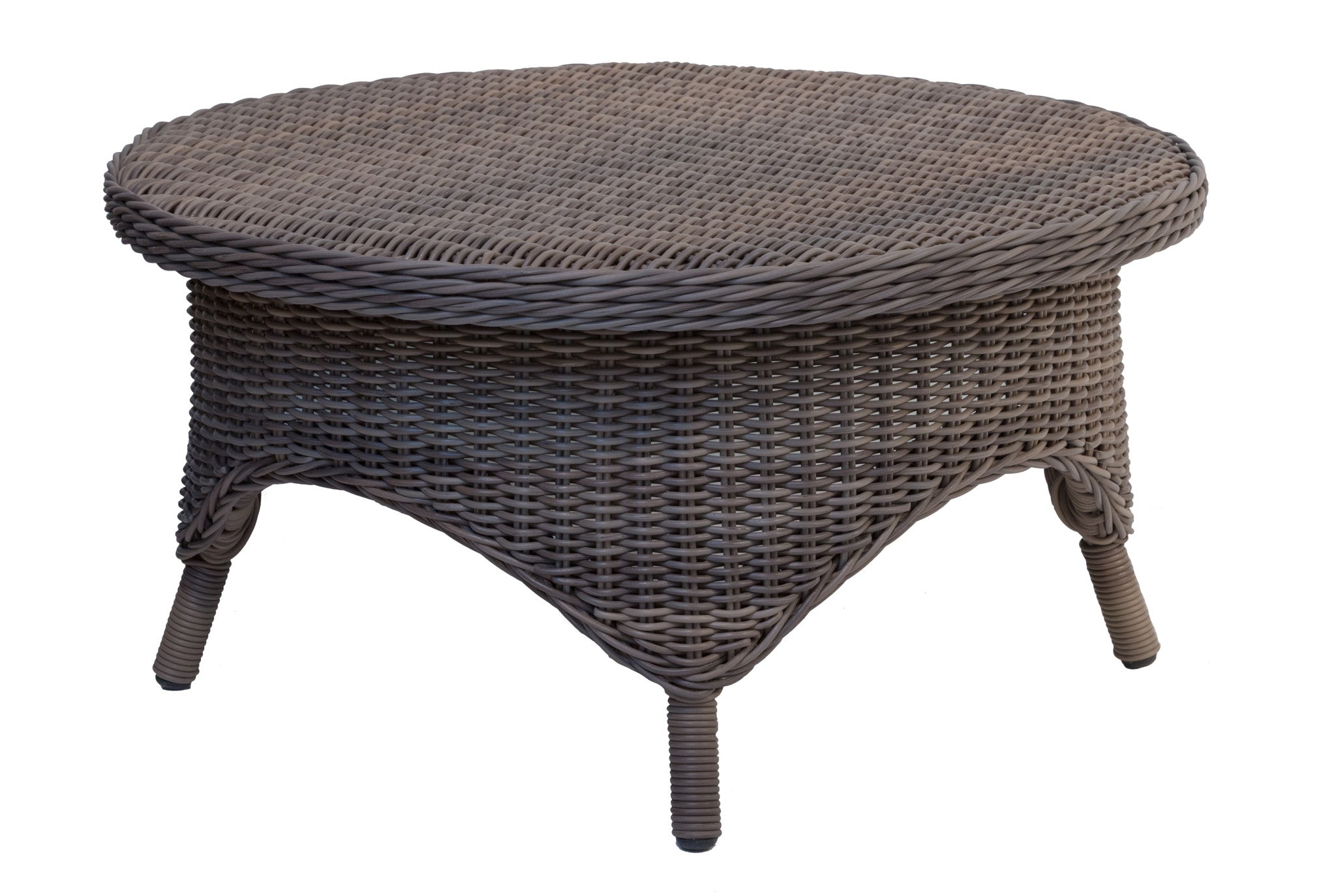 Conservatory Outdoor Coffee Table Designer Wicker by Tribor