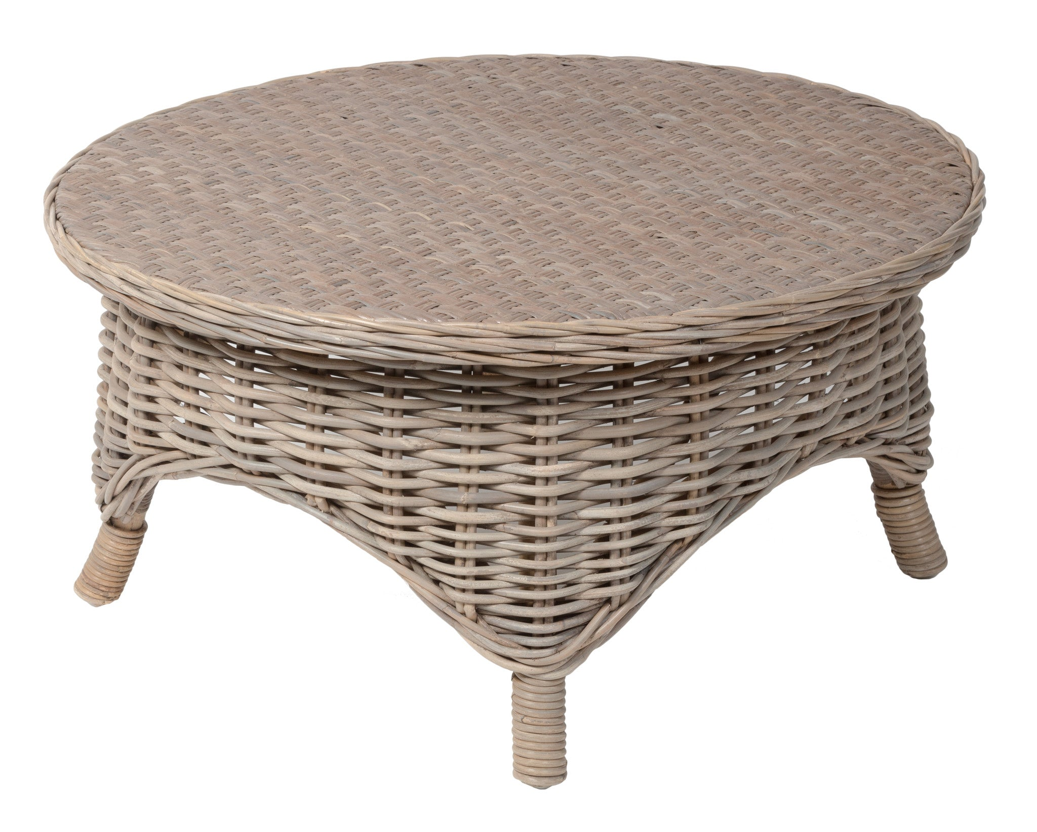 Conservatory Coffee Table Designer Wicker by Tribor