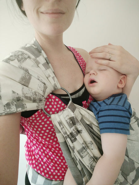 First Trimester Babywearing While Pregnant Brooke Maree