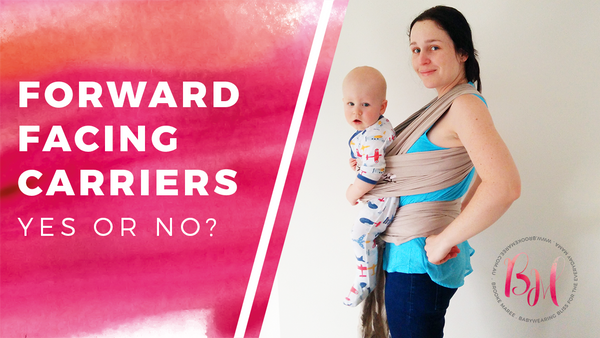forward facing baby carriers