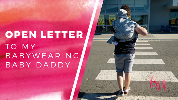 babywearing dad fathers day