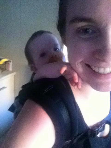 babywearing toddler older baby