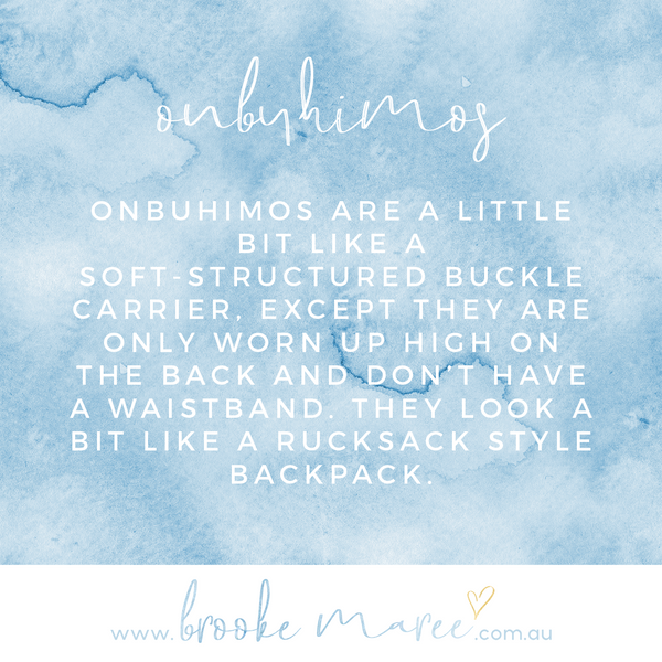 quote about onbuhimos baby carrier
