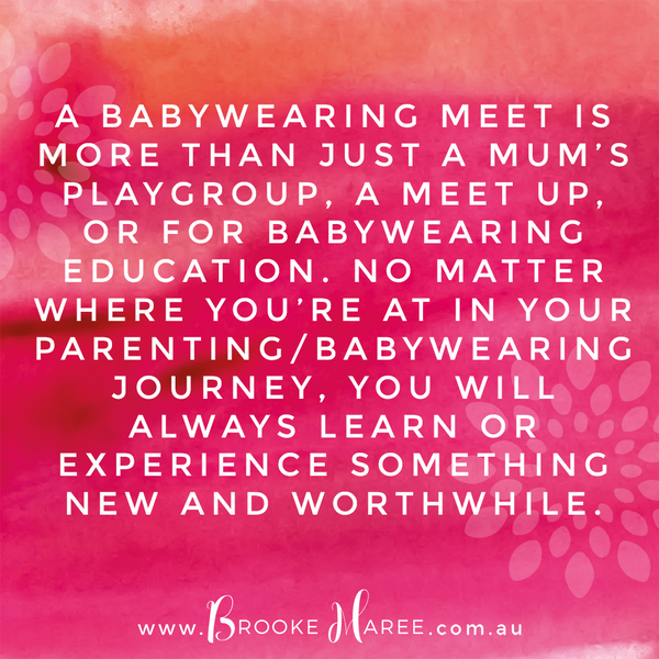 babywearing meet quote