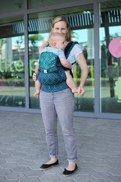f9cb7d24477 ... Soul Slings - AseemA Full Buckle Baby Carrier - Topaz. Show Gallery