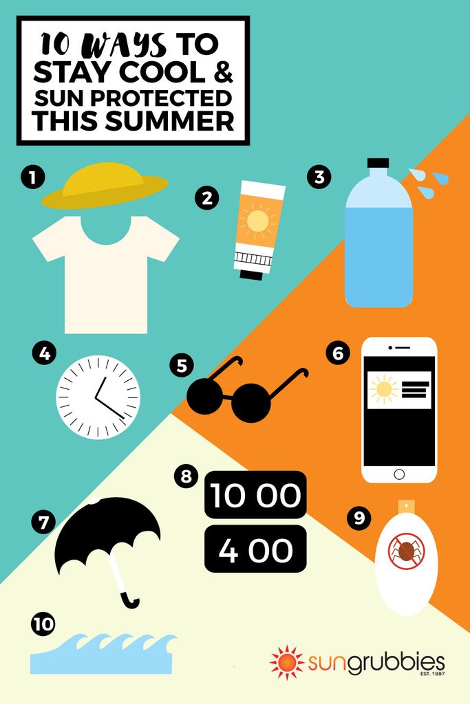 10 Ways to Stay Cool and Sun Protected this Summer Infographic