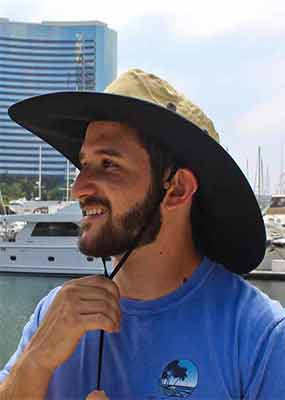 Cruz Packable Fishing Sun Hat