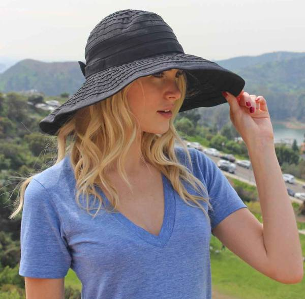 Ginger Packable Hat For Women With Large Heads