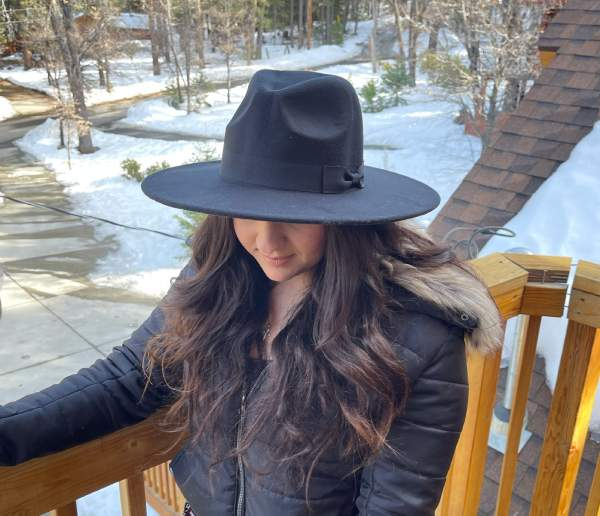Fedora Sun Hat For Women With Big Heads