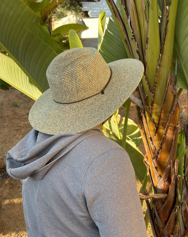 Diego Chin Strap Straw Hat For Men