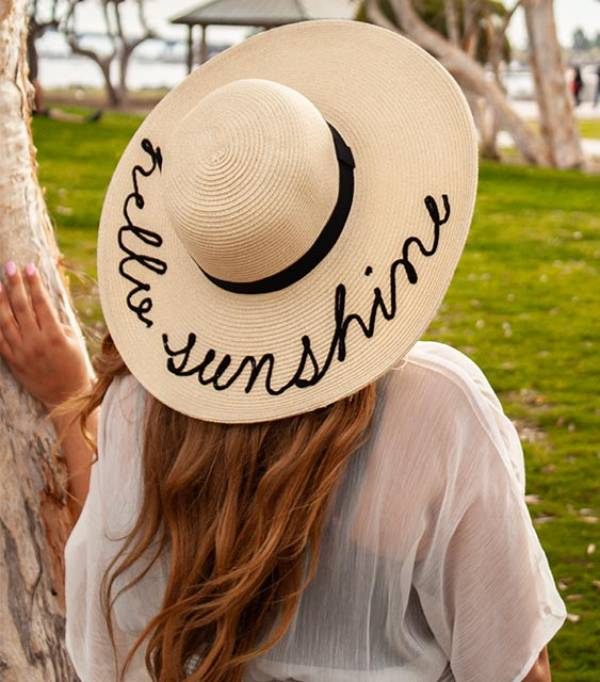 Beach Hat for Women With Big Heads