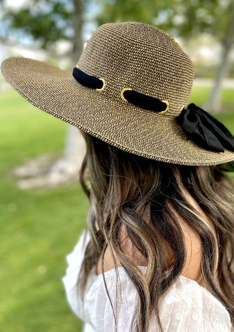 Solara Summer Hat For Women With 4.5-Inch brim UPF 50+