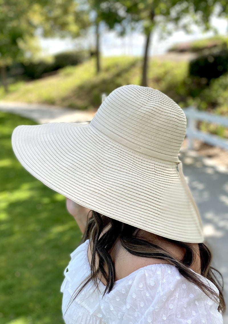 Extra Large Brim Summer Hat For Women XL