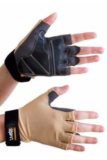 Sure Grip UV Gloves Fingerless UPF 50+