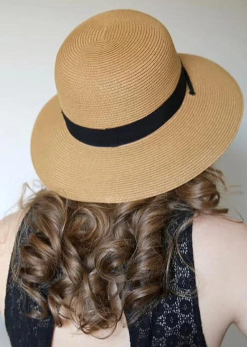 Amber Gardening Straw Hat For Women Extra Large Tan