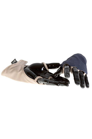 Uveto Backhander Gloves One Size Fits Most / Navy/Tan