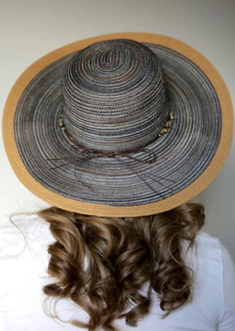 Crystal Beach Hat For Women Brown From Sungrubbies