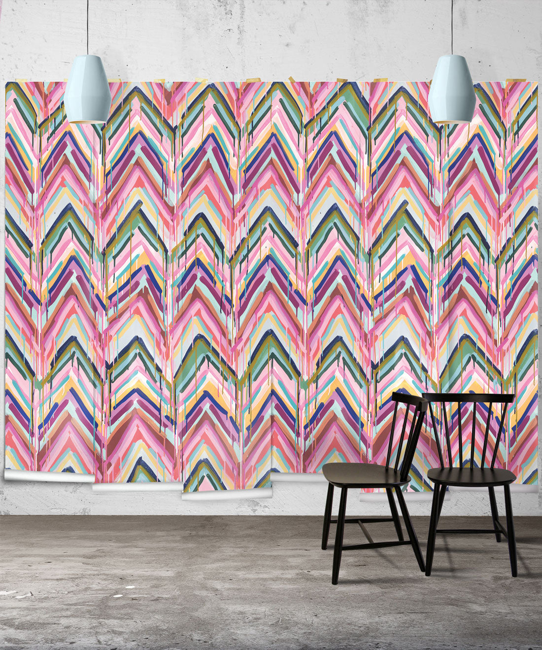 Tiff Manuell Collaboration with Milton and King | Beautiful Wallpaper